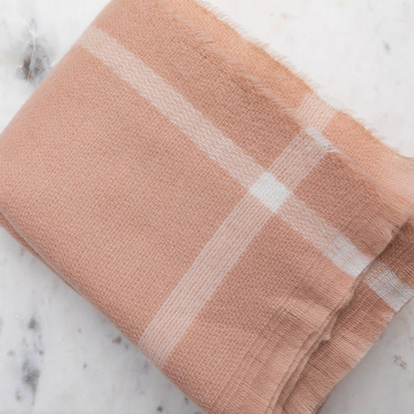 Gathered by TCO Pashmina Blush