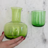 Mason Green Carafe and Glass Set