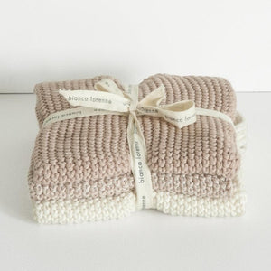 LAVETTE PETAL WASHCLOTHS - SET OF THREE