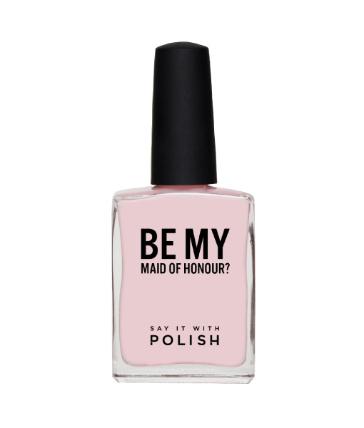 Be My Maid of Honour? Pink Polish