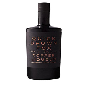 Coffee Liquor Quick Brown Fox