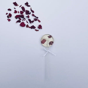 Rose Petal Lollipop