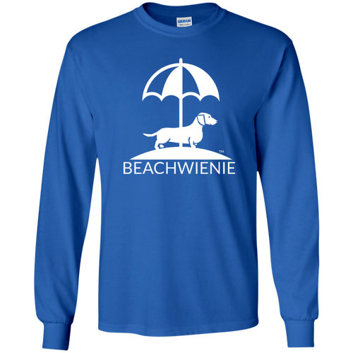 Beach Wienie Logo LS Ultra Cotton T-Shirt - Beach Wienie