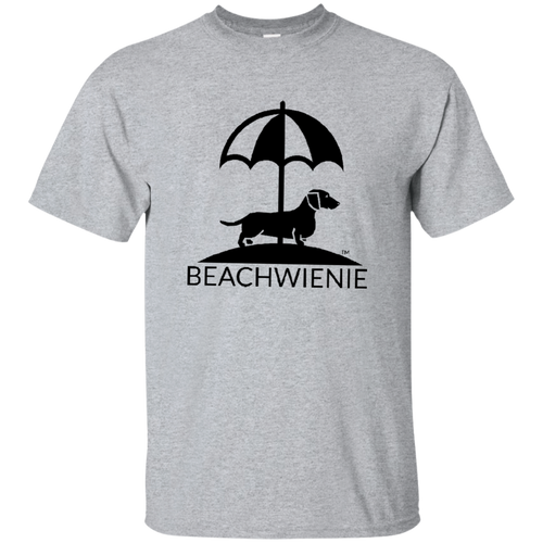 Beach Wienie Logo Ultra Cotton T-Shirt - Beach Wienie