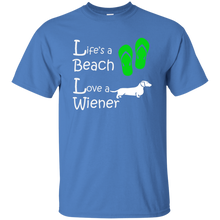 Life's a Beach Ultra Cotton T-Shirt - Beach Wienie