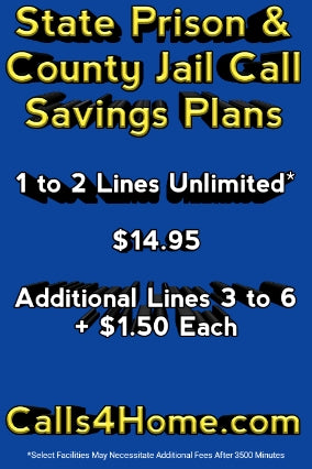 State Prison & Local Jail Call Savings Plan