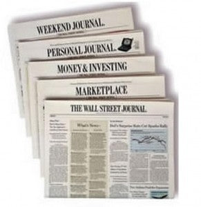 Wall Street Journal (WSJ) Subscription - Deep Discount