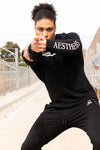 LONGSLEEVE TRAINING TEE long sleeve t-shirt t shirt tops - BLACK