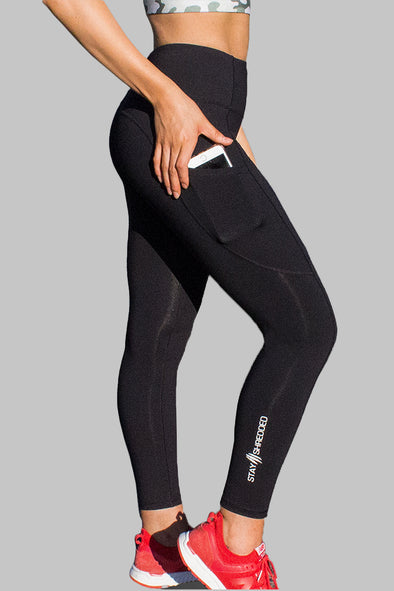 Obsession Pocket Legging 7/8 - BLACK
