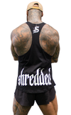 CONTRAST T-BACK - Black - Stay Shredded