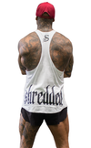 CONTRAST T-BACK - White
