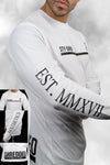 LONGSLEEVE TRAINING TEE long sleeve t-shirt t shirt tops - WHITE