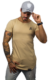 Stay Shredded Muscle Tee - Beige - Stay Shredded
