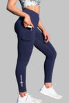 Obsession Pocket Legging 7/8 - NAVY - Stay Shredded