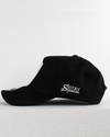 Premium OFFICIAL SHREDDED A-frame Hat - Black / White
