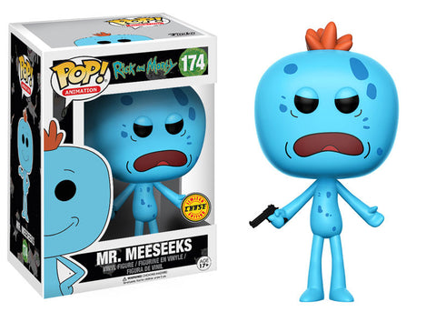Funko Pop - Rick and Morty - Mr Meeseeks CHASE