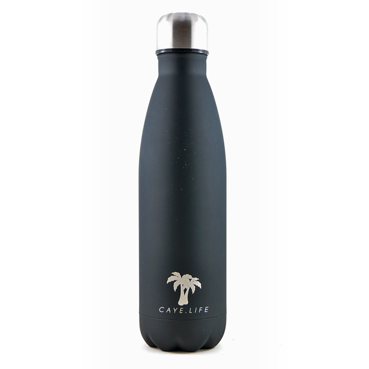 Insulated Drink Bottle - Black Matte (2 sizes available)
