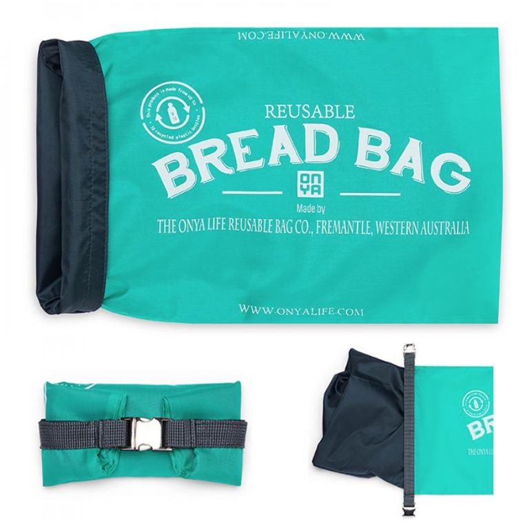 Reusable Bread Bag - Aqua