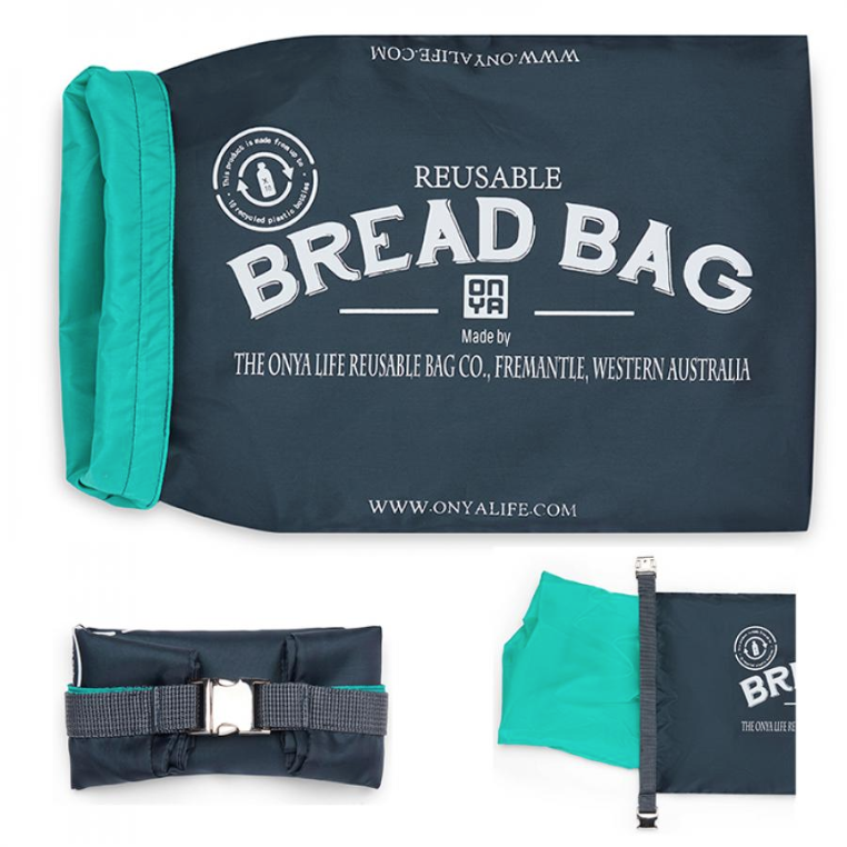 Reusable Bread Bag - Charcoal