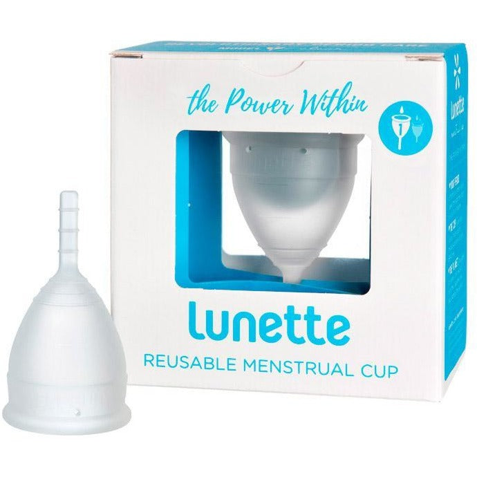 Lunette Menstrual Cup - Clear (Available in 2 models)