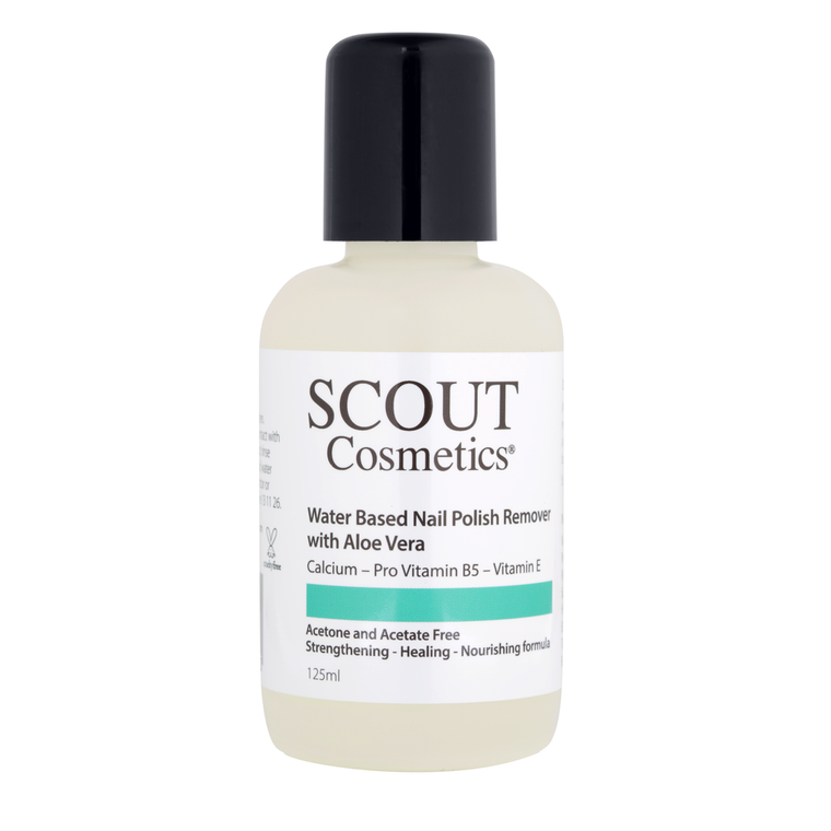 Scout Vegan Water Based Nail Polish Remover