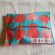 Washable Snack Pouch - Apple & Radish