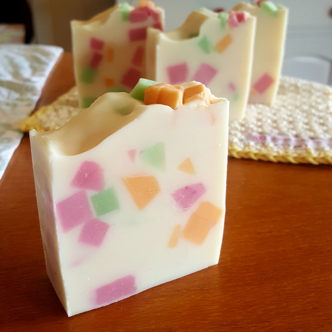 Fruit Salad Soap - Apple & Radish