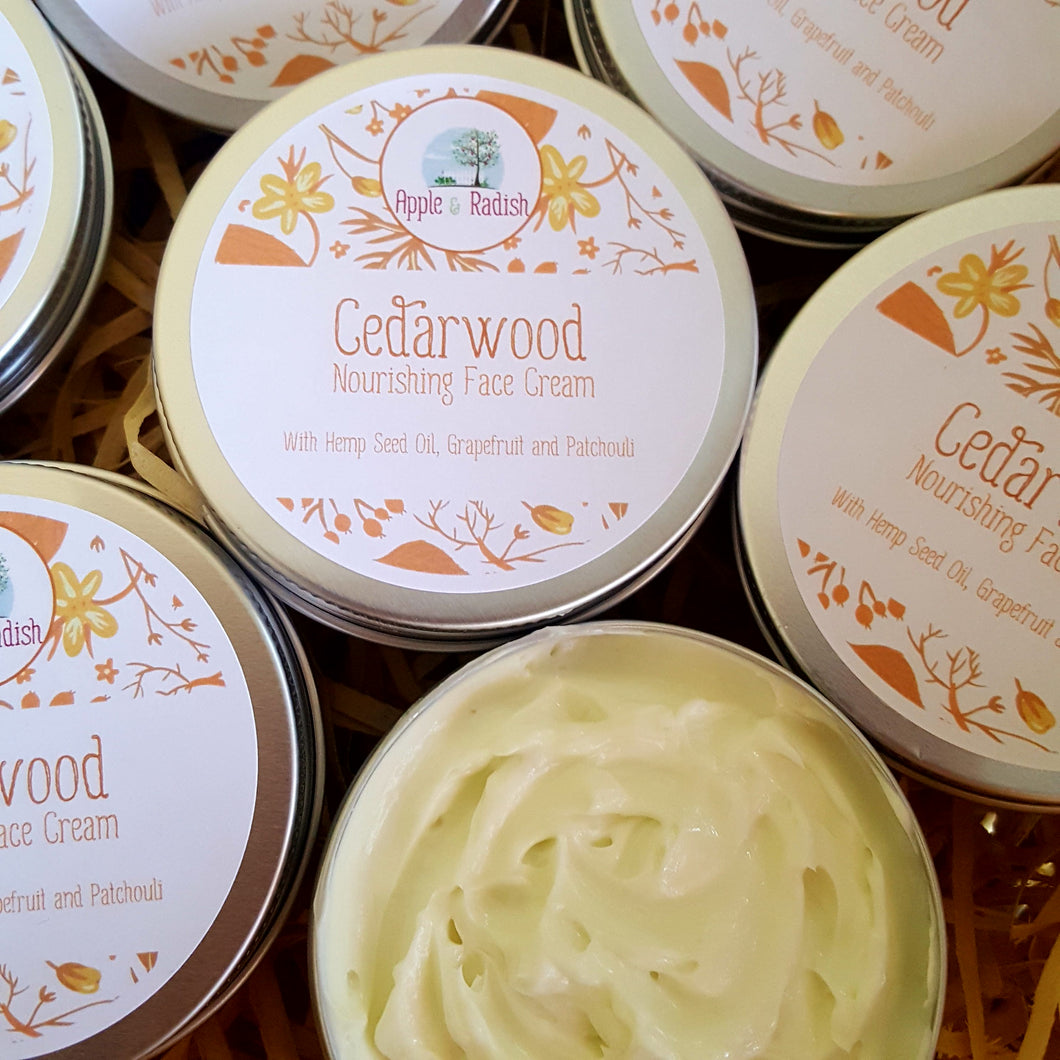 Cedarwood Nourishing Face Cream
