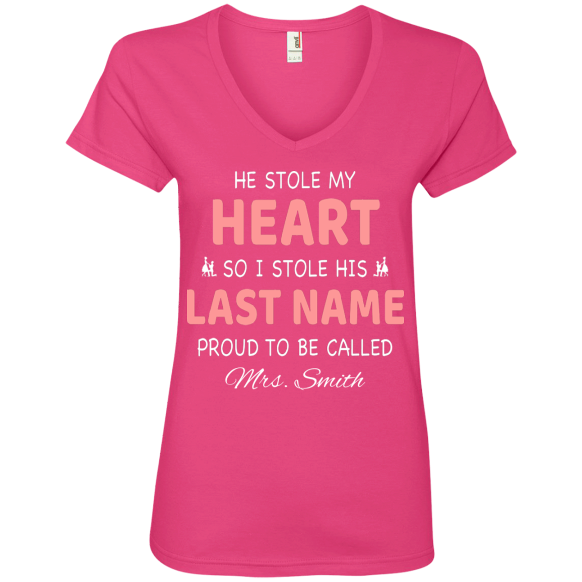He Stole My Heart - Personalized T-Shirt - Need This Please