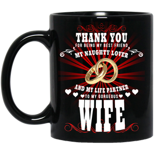 To My Wife - Naughty Lover - Mug