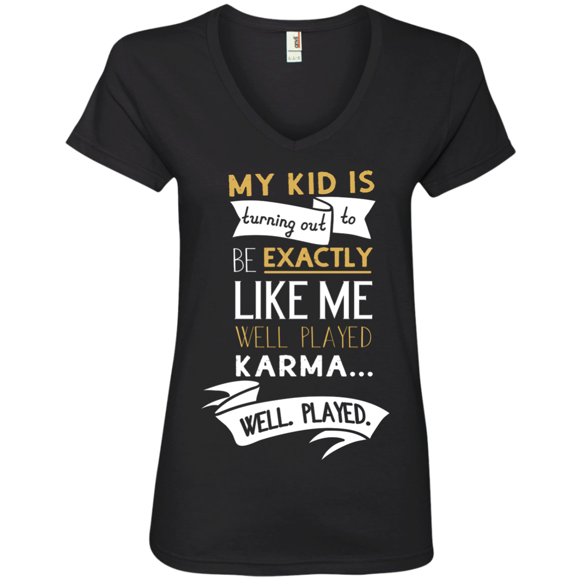 Well Played Karma - Ladies Tee & Hoodie
