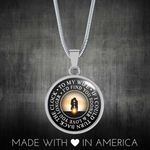 To My Wife - Love You Longer Sunset - Necklace