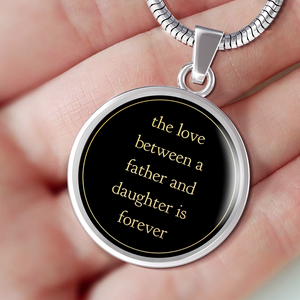To My Daughter - Our Love Is Forever - Necklace