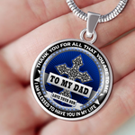 To My Dad - Thank You For All That You Are - Necklace - Need This Please