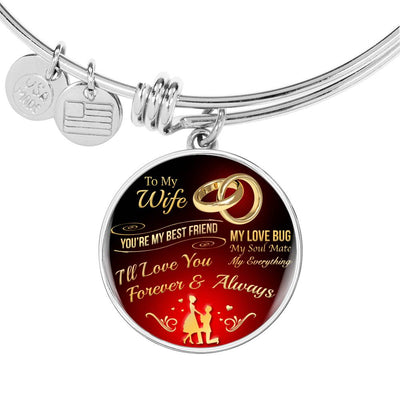 To My Wife - My Love Bug - Bangle