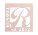 Home Decor - Square Monogram