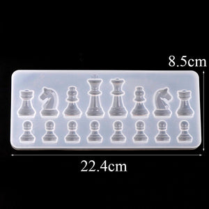 Chess Set Silicone Mold