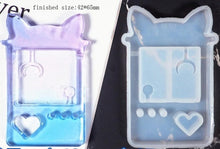 Load image into Gallery viewer, Kawaii Resin Shaker Silicone Molds
