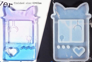 Kawaii Resin Shaker Silicone Molds