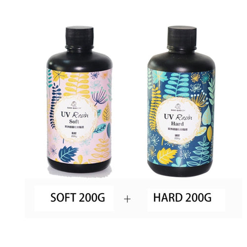 2pc Hard Type UV resin and Soft Type UV resin