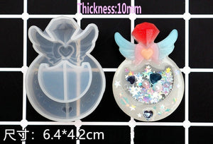 NEW Mini Kawaii Resin Shaker Silicone Molds