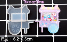 Load image into Gallery viewer, NEW Mini Kawaii Resin Shaker Silicone Molds