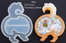 Load image into Gallery viewer, Animal butt Resin Shaker Silicone Molds
