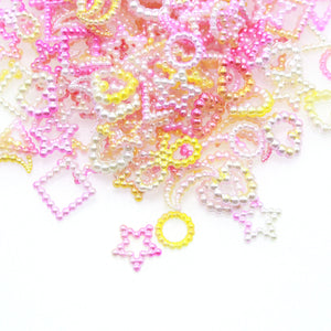 20g Pearl-like resin fillers, Embellishments, Slime Charms