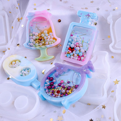 Adorable Mini Silicone Shaker Molds for resin