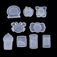 Load image into Gallery viewer, Cute Silicone Shaker Molds for Resin