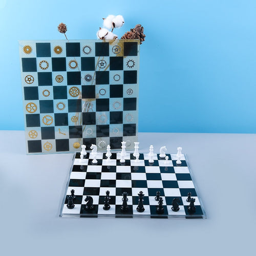 Chess Board Silicone Mold - 3 sizes