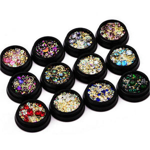 Tiny Bead Crystal Decorations - 12 Colors to choose from
