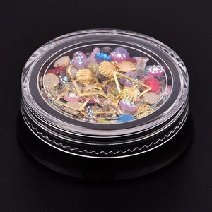 3D Nail Art Decorations, resin embellishments