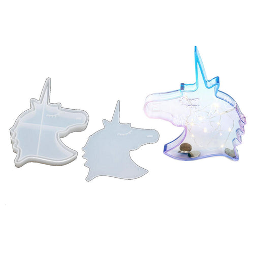 Unicorn Money Bank Silicone Mold